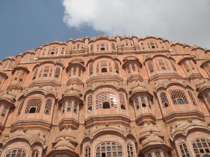 Hawamahal on Jaipur Pink City Walk